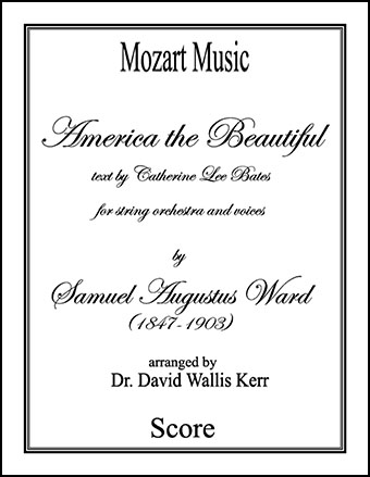 America the Beautiful (for String Orchestra and Chorus)