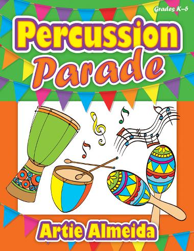 Percussion Parade classroom sheet music cover