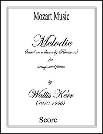 Melodie (based on a theme by Rousseau)