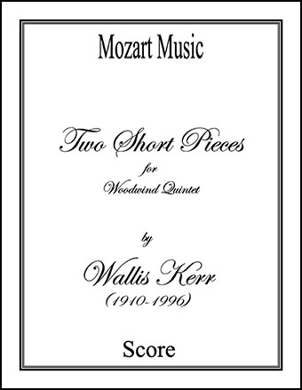 Two Short Pieces for Woodwind Quintet