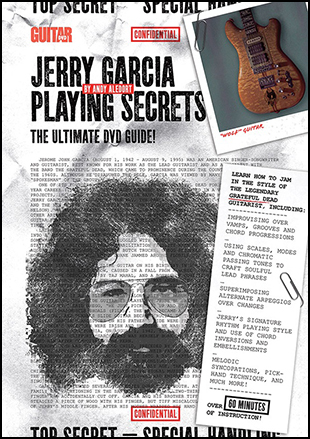 Jerry Garcia Playing Secrets Cover