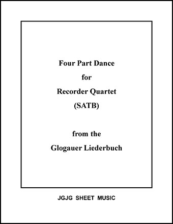 Medieval Dance (Recorder Quartet)