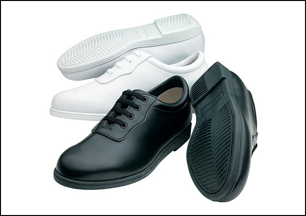 Glide Marching Shoe Women's Wide White