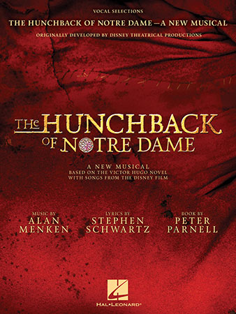 The Hunchback of Notre Dame vocal sheet music cover