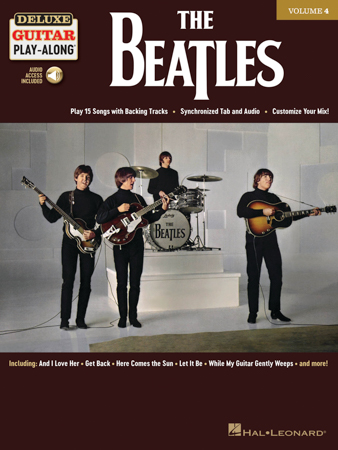 Deluxe Guitar Play-Along, Vol. 4: The Beatles