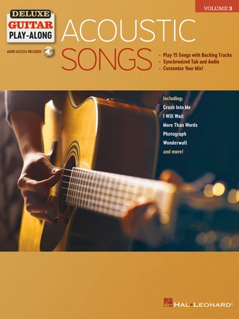 Deluxe Guitar Play-Along, Vol.  3: Acoustic Songs