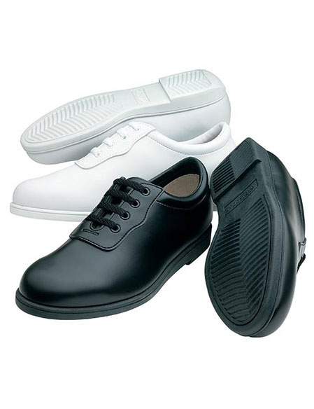 Glide Marching Shoe Men's Wide Width White music accessory image