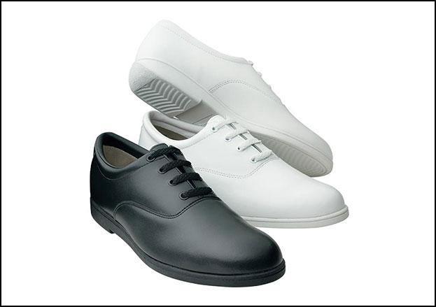 Vanguard Marching Shoe Men's Wide Width Black