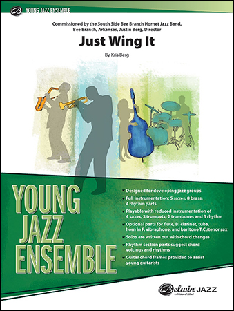 Just Wing It jazz sheet music cover