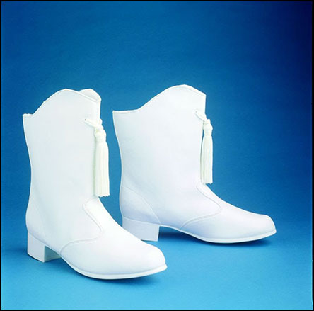 Stacie Majorette Boot, Womens White music accessory image