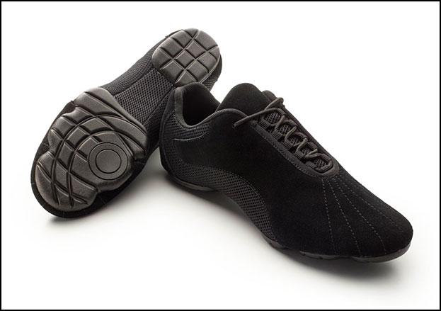 Accent Front Line Dance Shoe, Womens Black