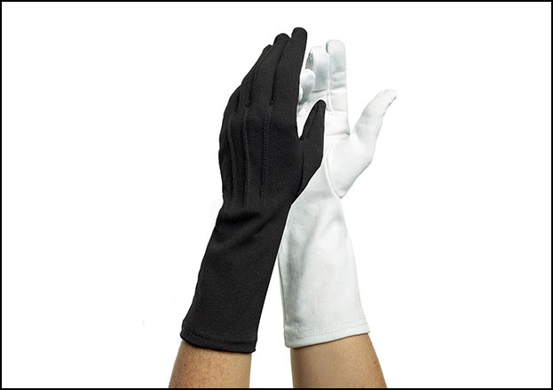 Nylon Long-Wristed Gloves, One Size Fits Most