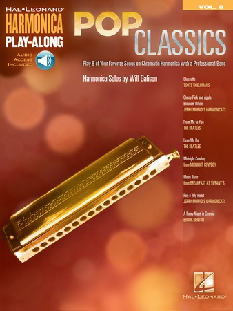 Harmonica Play Along Vol. 8 Pop Classics