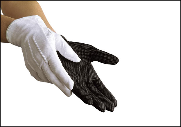 Sure Grip Cotton Marching Glove