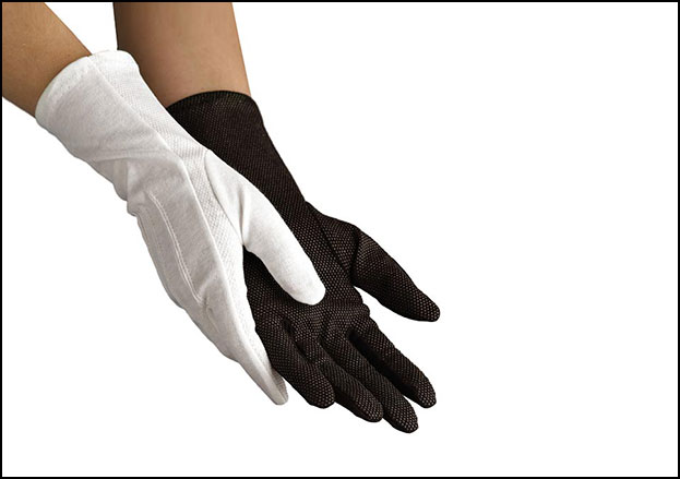 Sure Grip Long-Wristed Cotton Marching Glove