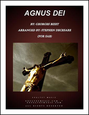 Agnus Dei (for SAB)