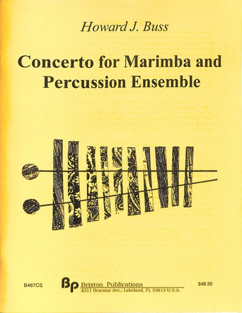 Concerto for Marimba and Percussion Ensemble