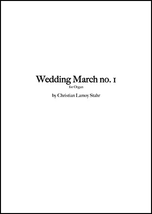 Wedding March No. 1