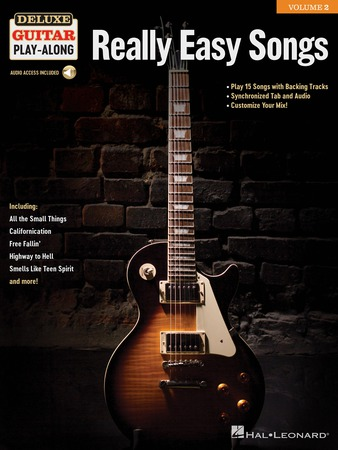 Deluxe Guitar Play-Along, Vol. 2: Really Easy Songs