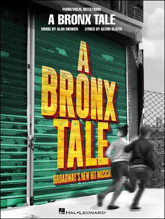 A Bronx Tale vocal sheet music cover