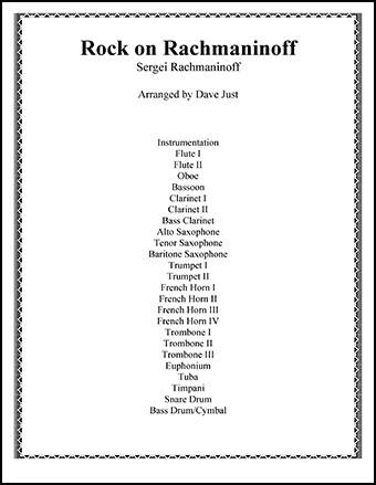 Rock On, Rachmaninoff