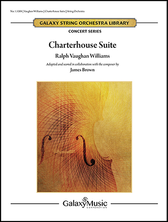 Charterhouse Suite orchestra sheet music cover