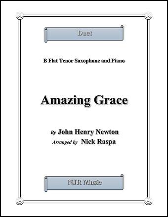 Amazing Grace (Tenor Sax & Piano)