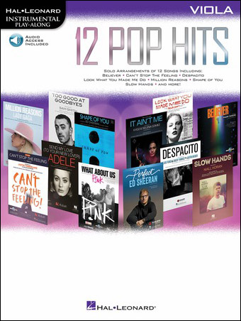 12 Pop Hits Cover