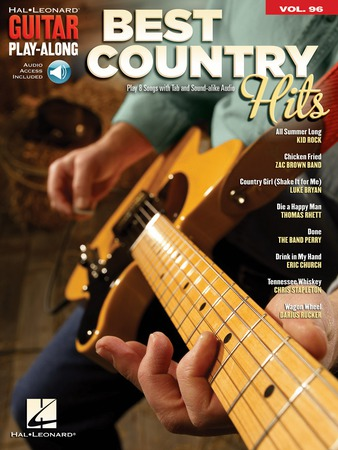 Guitar Play-Along, Vol. 96: Best Country Hits