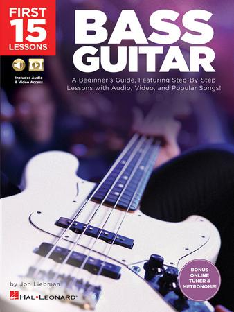 First 15 Lessons: Bass Guitar