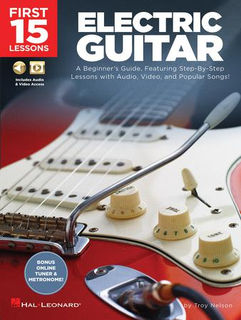First 15 Lessons: Electric Guitar