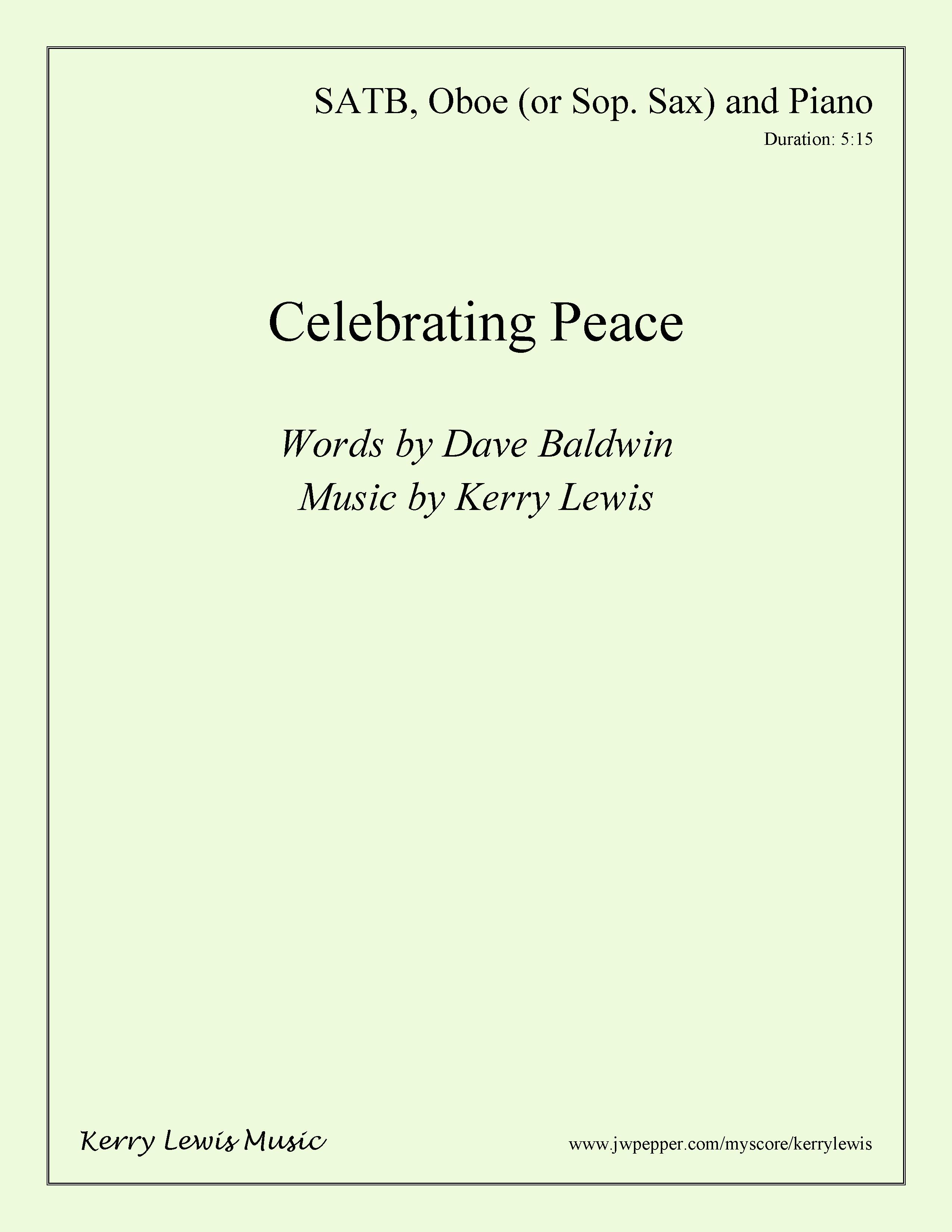 Celebrating Peace