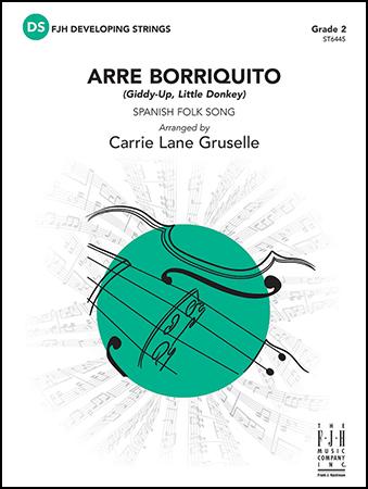 Arre Borriquito christmas sheet music cover