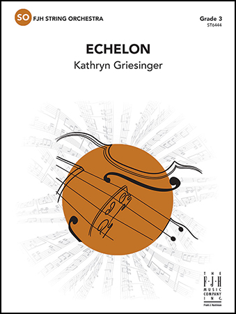 Echelon orchestra sheet music cover