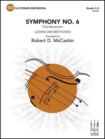 Symphony No. 6 orchestra sheet music cover