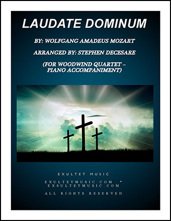 Laudate Dominum (Woodwind Quartet with Piano)