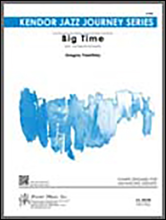 Big Time jazz sheet music cover