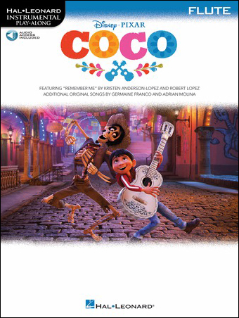 Coco woodwind sheet music cover