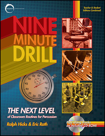 Nine Minute Drill percussion sheet music cover