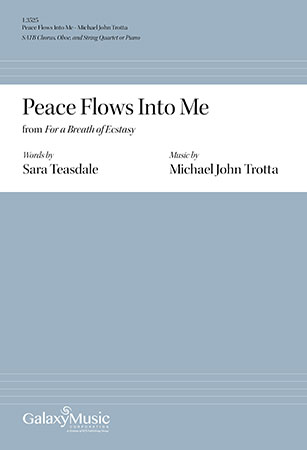 For a Breath of Ecstasy: 2. Peace Flows Into Me