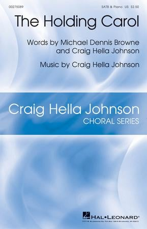 The Holding Carol choral sheet music cover
