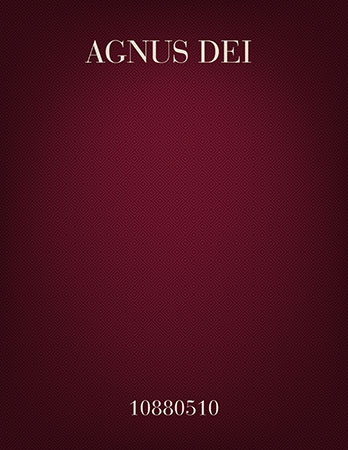 Agnus Dei (SAB)