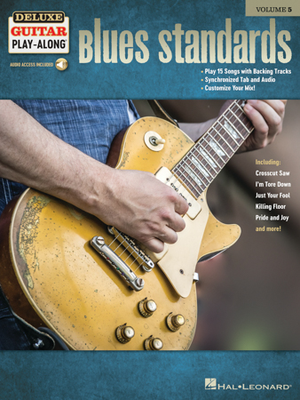 Deluxe Guitar Play-Along, Vol. 5: Blues Standards