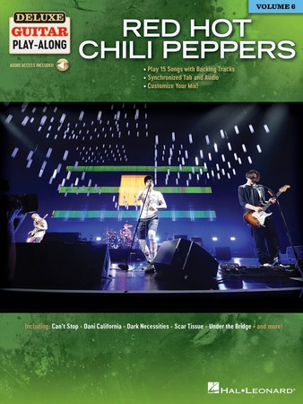 Deluxe Guitar Play-Along, Vol. 6: Red Hot Chili Peppers