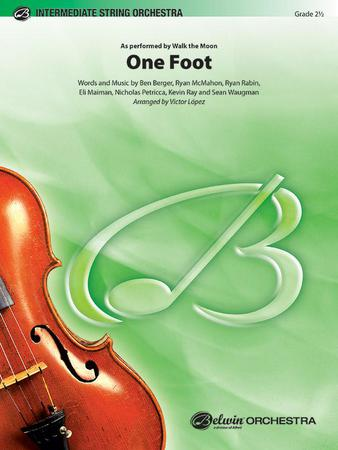 One Foot orchestra sheet music cover