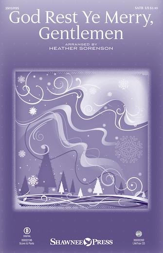 God Rest Ye, Merry Gentlemen church choir sheet music cover