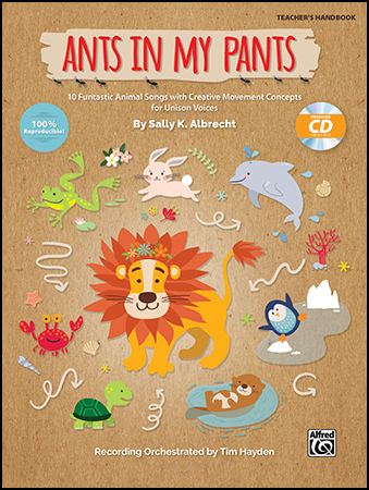 Ants in My Pants classroom sheet music cover