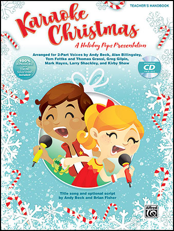 Karaoke Christmas classroom sheet music cover