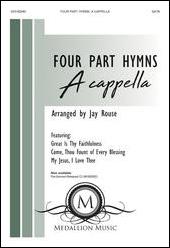 Four Part Hymns church choir sheet music cover