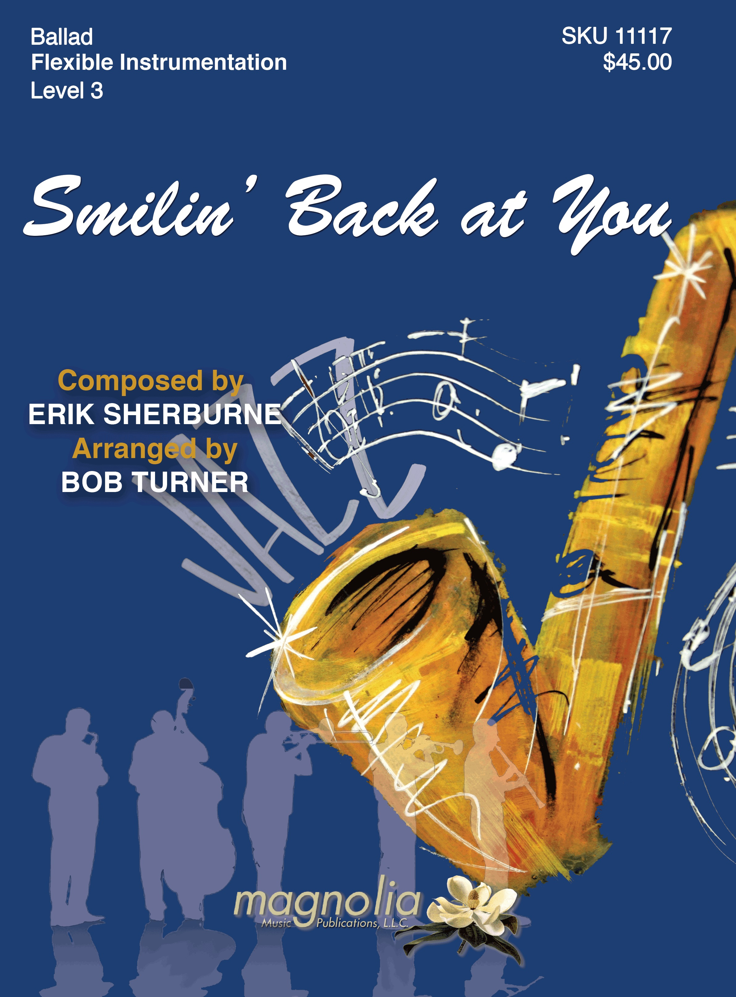 Smilin' Back at You jazz sheet music cover